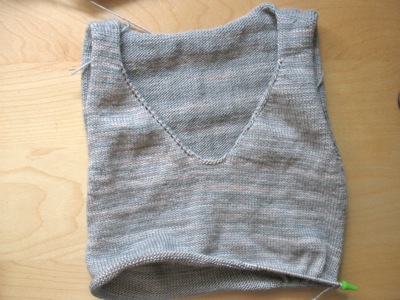 Ruffle Sweater_ WIP 2
